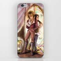 Jareth And Sarah Labyrin… iPhone & iPod Skin
