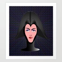 Wicked Lady Vader Art Print