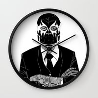 SOLAR SQUAD MAN 2 Wall Clock