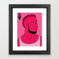 1001 Black Men--#571 Framed Art Print