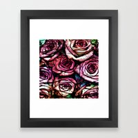 :: Rose Colored :: Framed Art Print