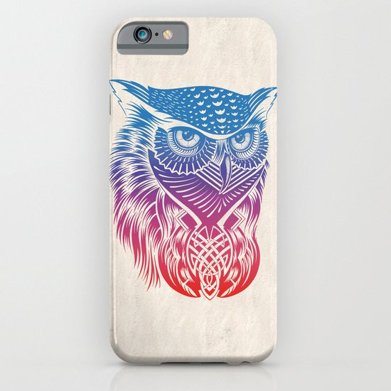 Owl of Color iPhone & iPod Case