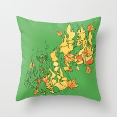 Fall of Life Throw Pillow