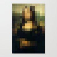 Buy pixels don't buy art Canvas Print