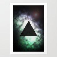 Tri-galaxy  Art Print