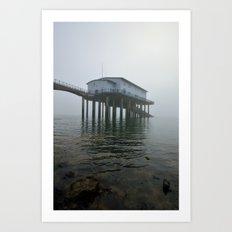 Roa Island Lifeboat Station Art Print