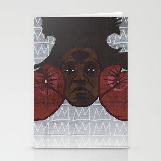 Jean-Michel Basquiat Stationery Card