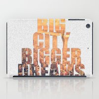 Big City Dreams iPad Case