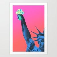 In Cone We Trust Art Print