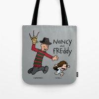 Nancy And Freddy Tote Bag