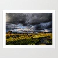 Rannoch Moor, Scotland Art Print