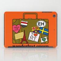 Wanderlust Queen iPad Case