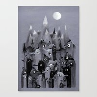 Nightbears Canvas Print
