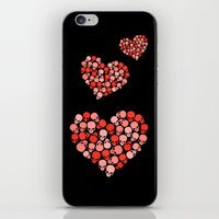 SKULL HEART FOR VALENTINE'S DAY iPhone & iPod Skin