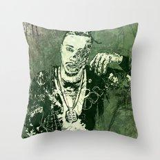 Ol Decay Bastard Throw Pillow