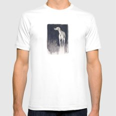 Resplendence SMALL White Mens Fitted Tee
