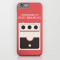 iPhone & iPod Case featuring White Striped by Igor Miná