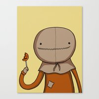 Adventure Time with Sam Canvas Print