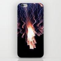 Cloud of fire iPhone & iPod Skin