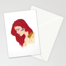 Glam Red Rock Stationery Cards