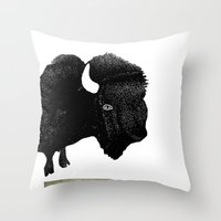THE KING OF PRAIRIE Throw Pillow