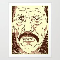Don't Fuck With The Wron… Art Print