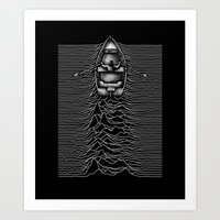 Unknown Waters Art Print