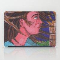 Mysterious Girl iPad Case