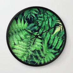 50 Shades of Green (1) Wall Clock