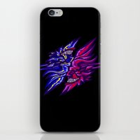 Twin Demons Intertwined iPhone & iPod Skin