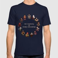 The Company of Thorin Oakenshield Mens Fitted Tee Navy SMALL