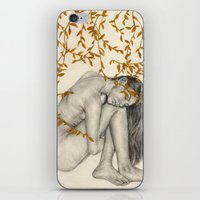 The Fragility Of Being Human iPhone & iPod Skin