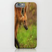 iPhone & iPod Case featuring Wolf Strut by Karol Livote