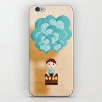 Flotando Con Mi Imaginac… iPhone & iPod Skin