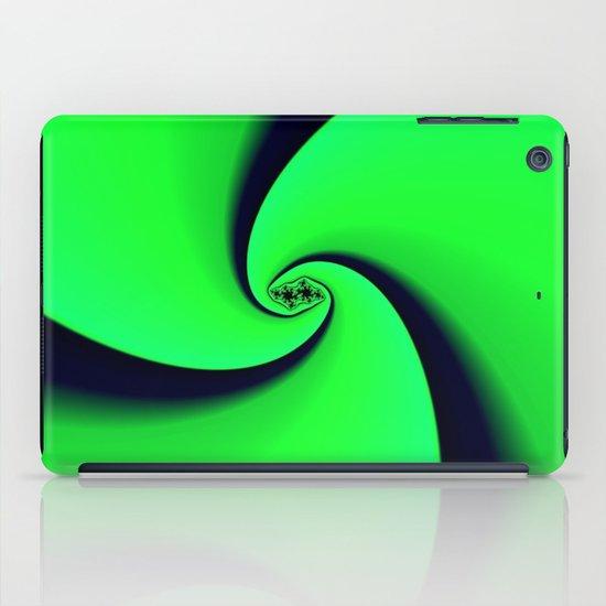 Black and Green  iPad Case