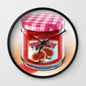 FIG JAM Wall Clock