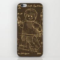 Plan Lego iPhone & iPod Skin