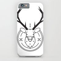 iPhone & iPod Case featuring Hunters head by WeLoveHumans
