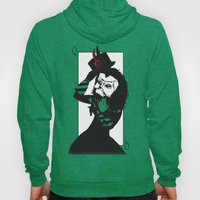Courting The Crimson Que… Hoody