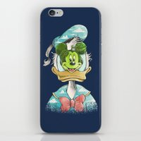 duck magritte iPhone & iPod Skin