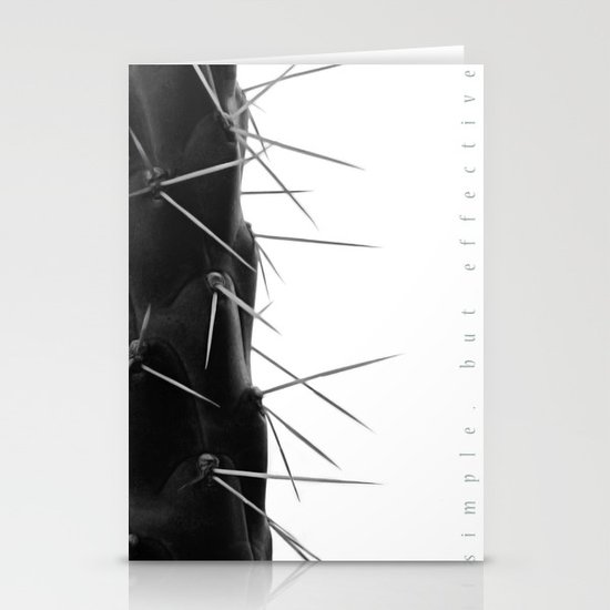 Simple - but effective. Stationery Card