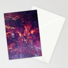 Star Field in Deep Space Stationery Cards