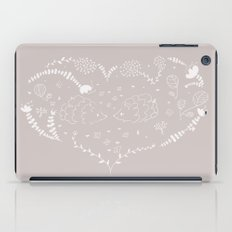 Hedgehogs in love iPad Case