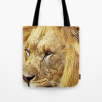 Thirsty Lion Tote Bag