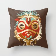 The Days Of Gods And Dem… Throw Pillow