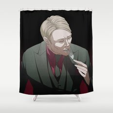 Remarkable Boy (Hannibal Lecter) Shower Curtain