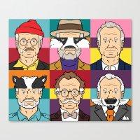 Wes's Murray Mash Canvas Print