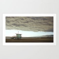 Cloudy Venice Art Print