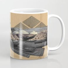 The future a time to reminisce. (mixed media) Mug