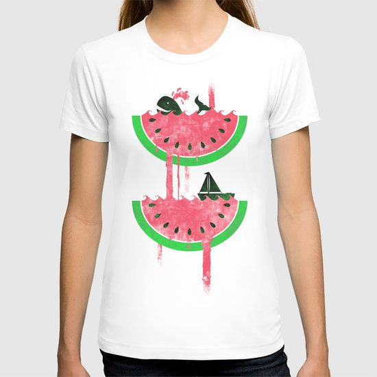 Watermelon falls Final T-shirt